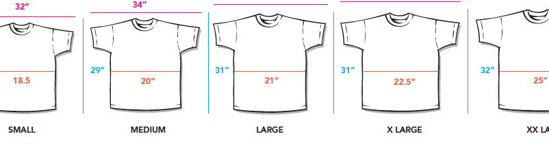 All Over Printing Size Guide