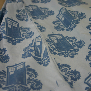 Seam imperfections when screen printing all-over tshirts.