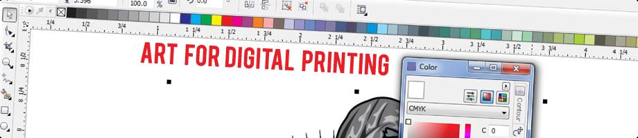 art for digital header