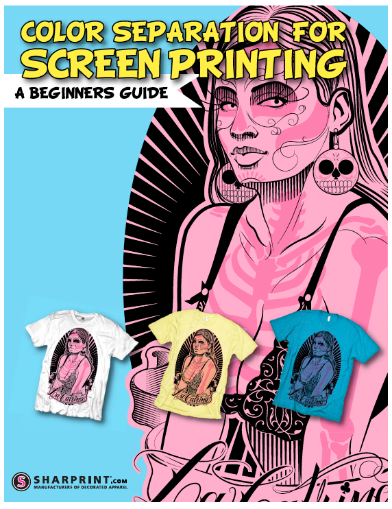 color separation for screen printing