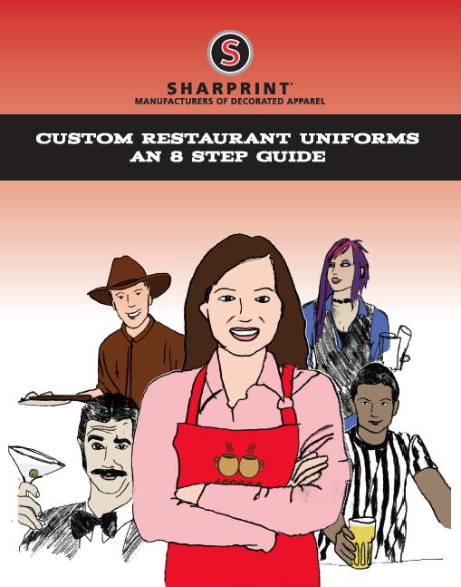 Print Custom Restaurant Uniforms