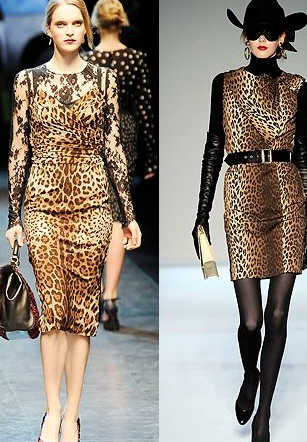 fall clothing animal prints