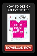 how to design an event tee cta
