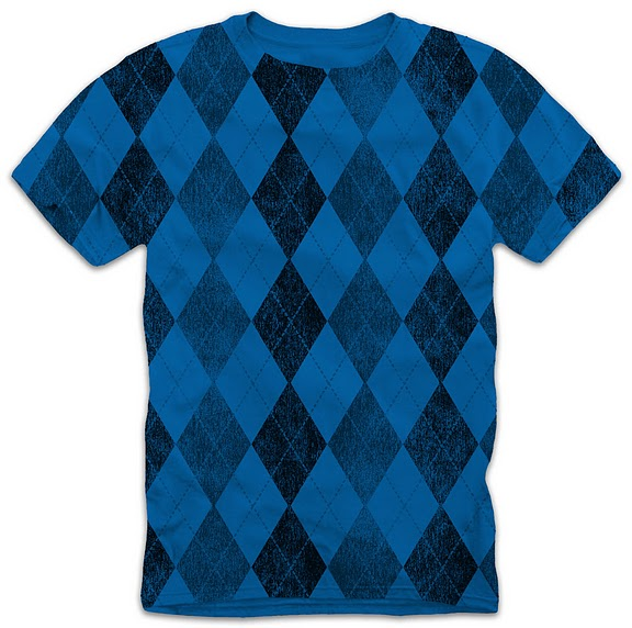 all over print one color t-shirt