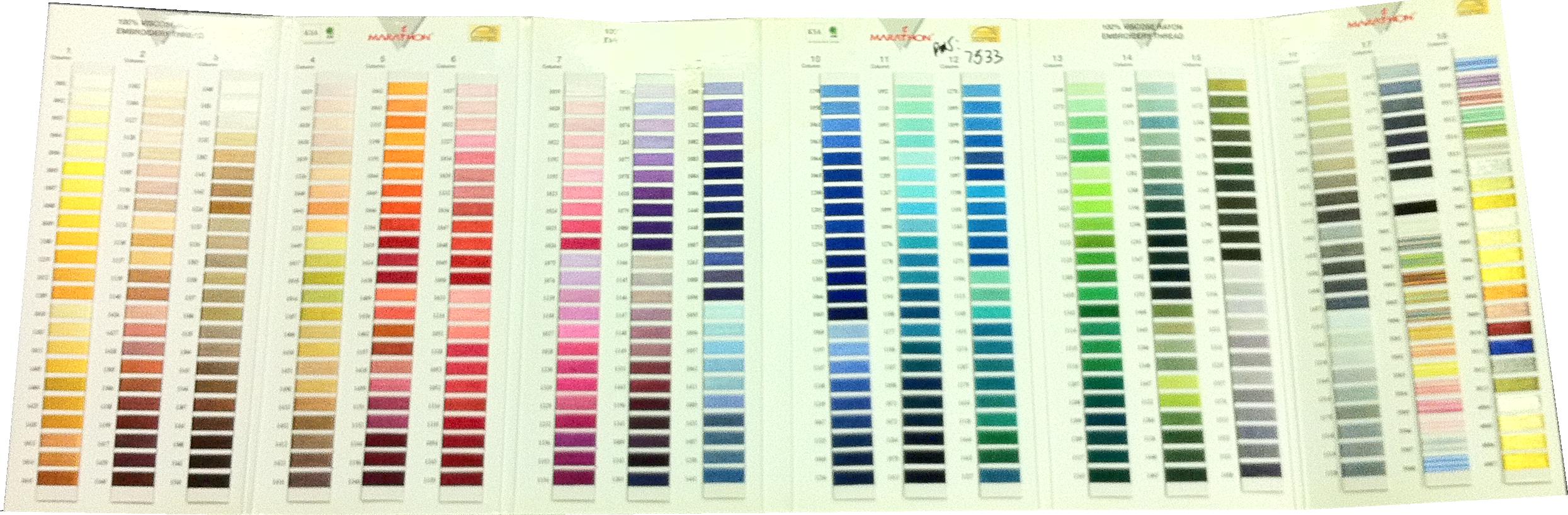 Pantone Color Book
