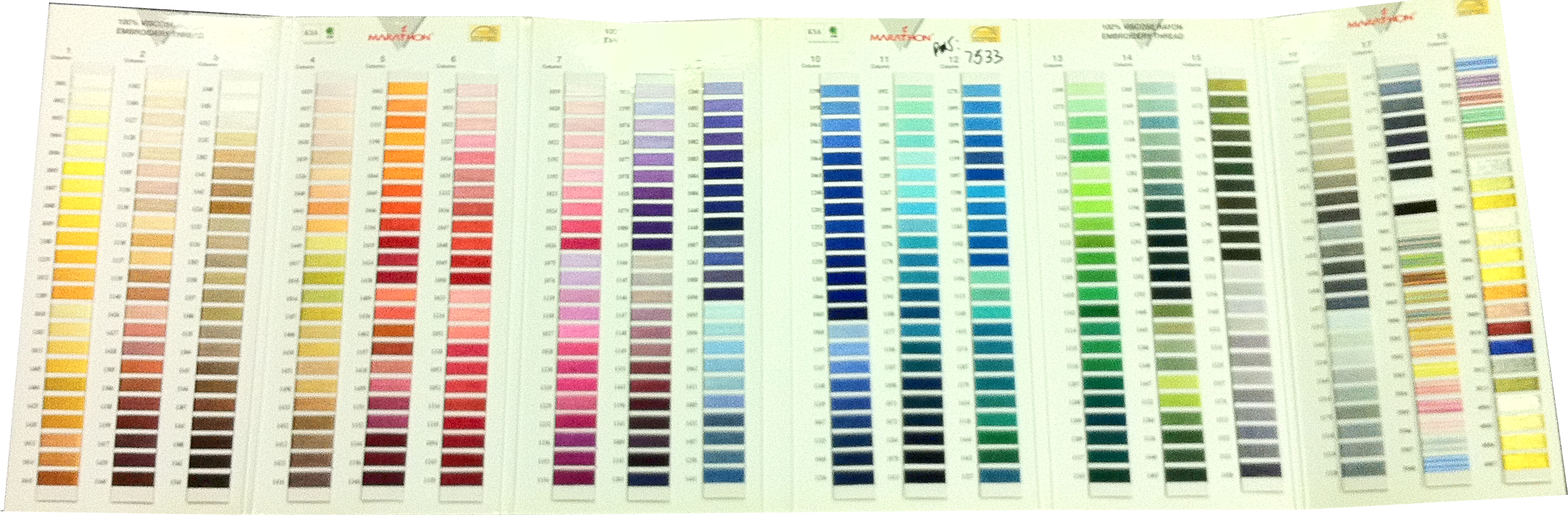 Pantone Color Book