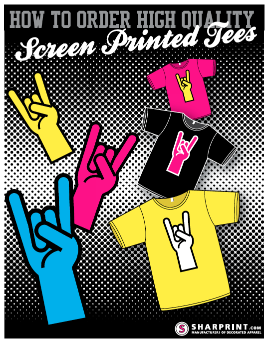 How to order high quality screen printed tees for Order screen printed shirts
