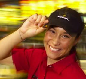 staff uniforms happy employees