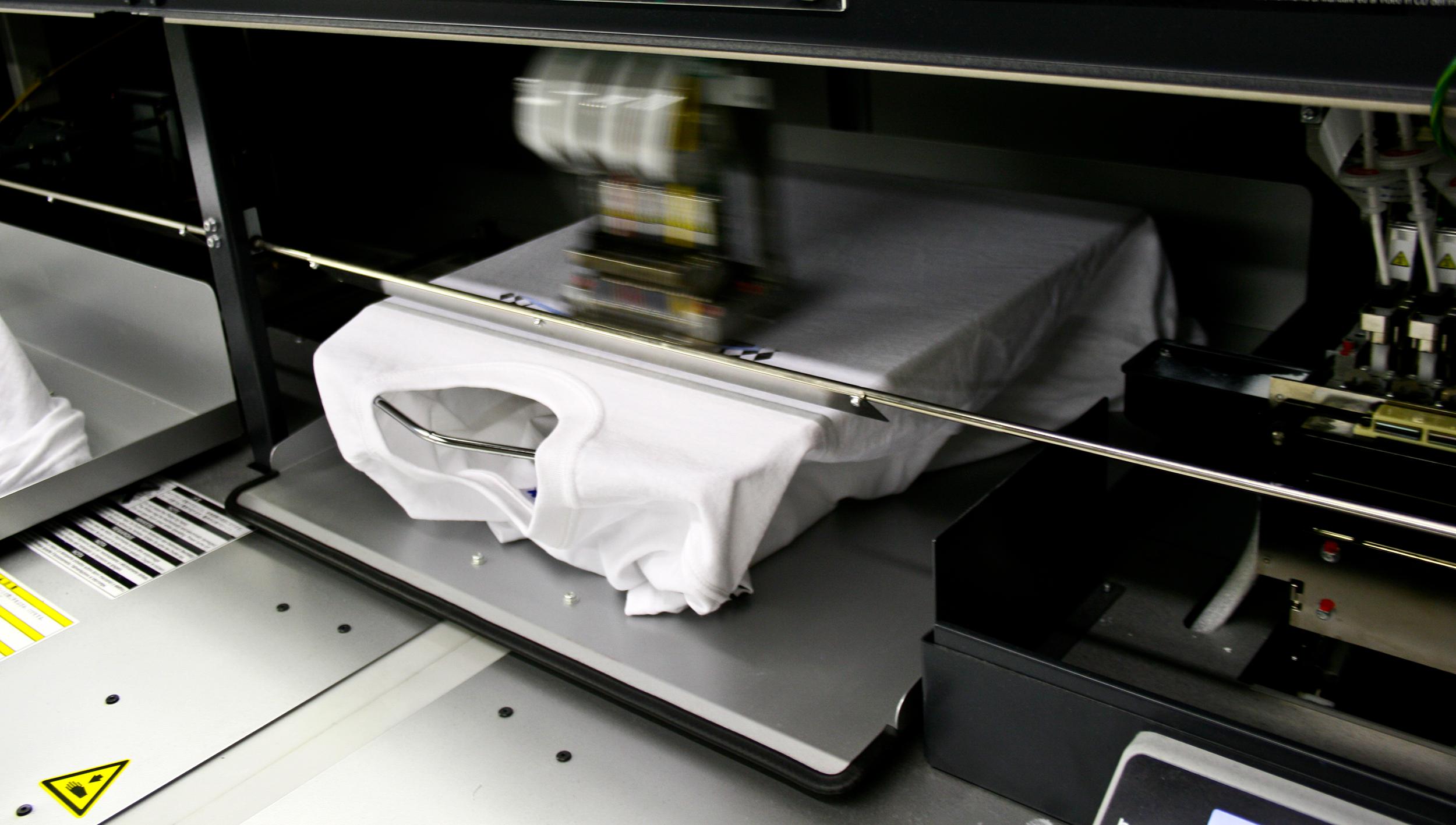 Digital Printing On Fabrics
